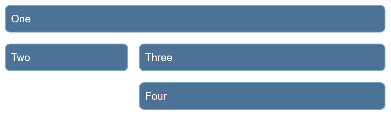 Four items displayed in a grid.