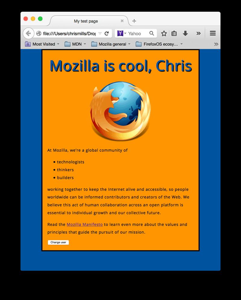 JavaScript basics   Learn web development   MDN