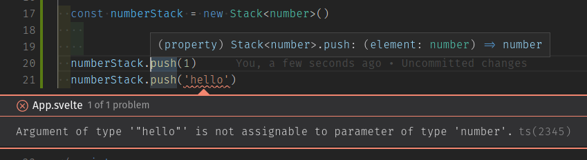 Argument of type hello is not assignable to parameter of type number